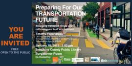 Preparing for transportation future banner