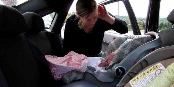 Car seat checkup, Livingston County