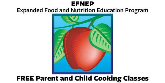 EFNEP Free parent and child cooking classes