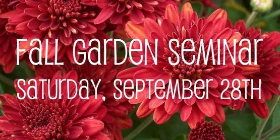 garden seminar 2019