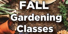 MG Fall Gardening Classes
