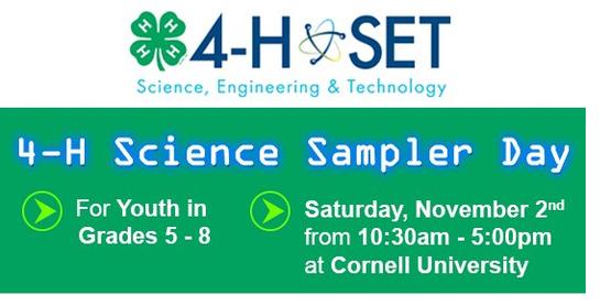 Science Sampler Day STEM