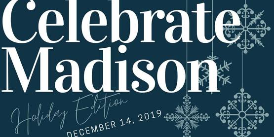 Join us for our 2nd Annual Celebrate Madison: Holiday Edition! Shop our local farmers and crafters wonderful wares on December 14th from 4pm-7pm at 100 Eaton Street in Morrisville.