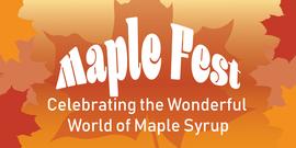 maple fest event header