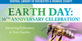 Earth Day Speaking Event - Pollinators