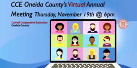 Virtual Annual Meeting Thursday, November 19th @ 6pm