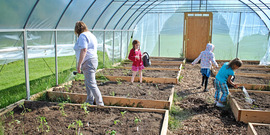 Greenhouse at Lyme Central School