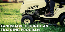 Landscape technician training program workforce development course 2021