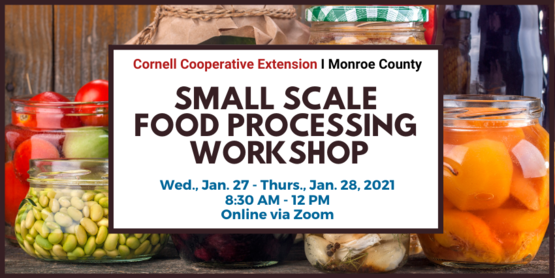 small scale food processing workshop