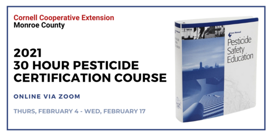 30 Hour Pesticide Applicator Certification Course 2021