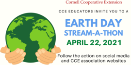 Earth Day Stream-a-thon 2021