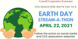 Earth Day Stream-a-thon 2021