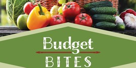 Budget Bites flyer