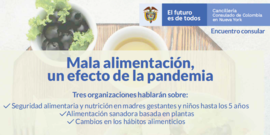 Nutricion at the columbian embassy