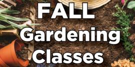 Fall Gardening Classes 2021