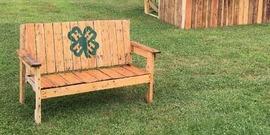 4-H bench