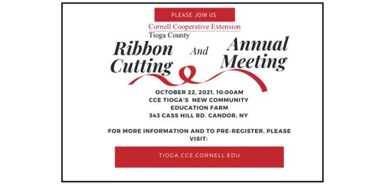 CCE Tioga Ribbon Cutting