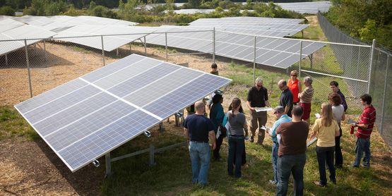 Solar Array on Farm