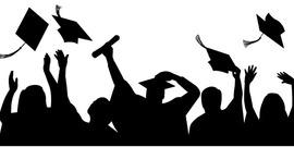 Graduation silhouette