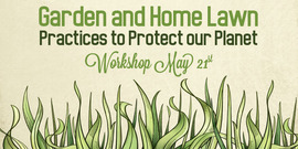 Garden and home graphic for spotlight