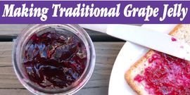 Grape jelly banner