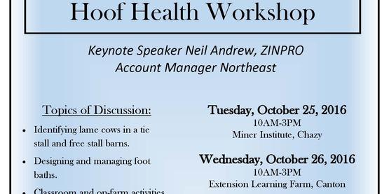 Hoof health workshop