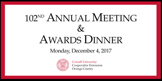 Annual awards dinner
