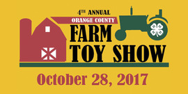 Farm toy show graphic