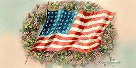 Star spangled banner postcard850x425
