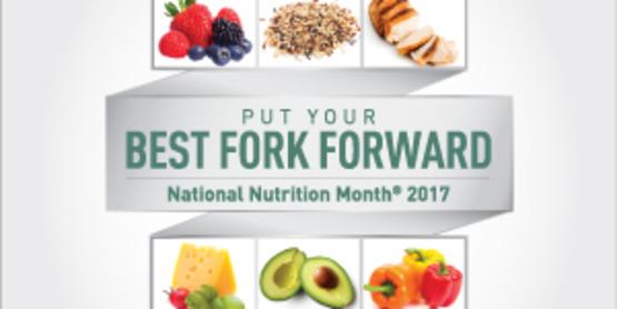 Nutrition month banner