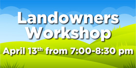 Landowner workshop web graphic