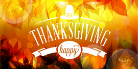 Thanksgiving background sized for web