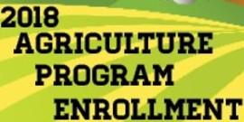2018 ag enrollment banner farm