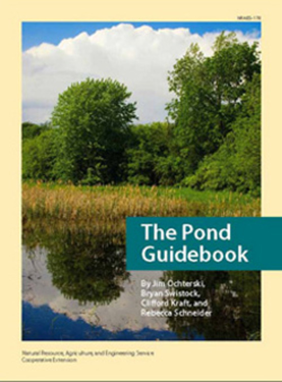 Cover of The Pond Guidebook (2007, Ochterski, et. al) at http://palspublishing.cals.cornell.edu/nra_order.taf?_function=detail&pr_id=163&_UserReference=C096DBA013CB87D6470CBD50