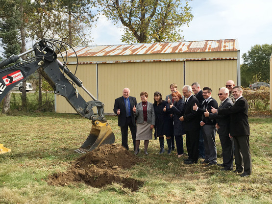 Farmers' Market groundbreaking