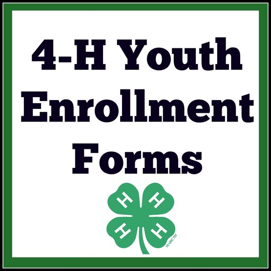 Click below to download 2017-2018 4-H Youth Enrollment Form