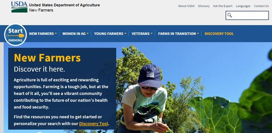 New Farmers.USDA