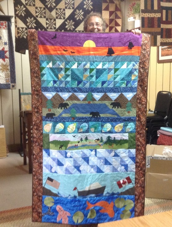 Quilt Winner Row by Row 2015
