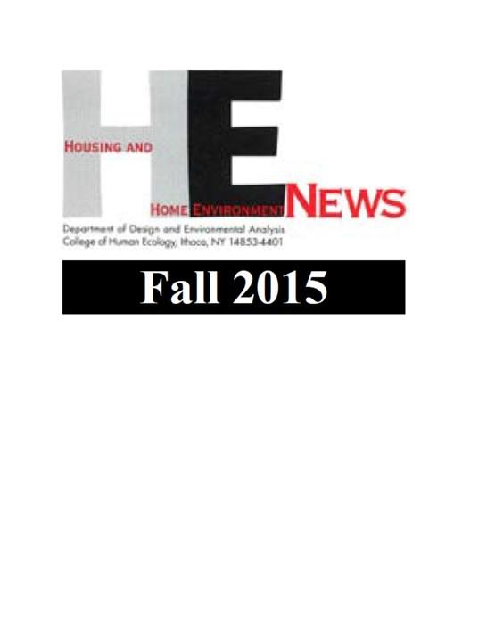 HHE News-Fall 2015