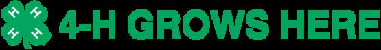 Long 4-H Grows Logo