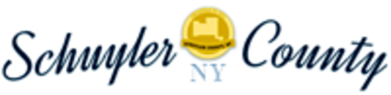 Schuyler County Logo, 200px wide for use in sidebars