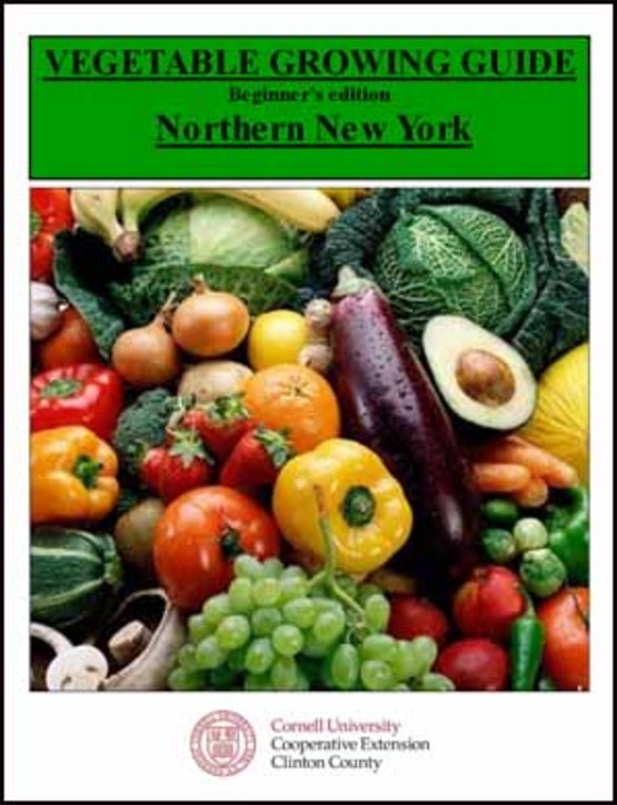 Cover of Vegetable Growing Guide Northern NY