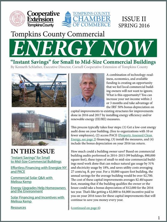 Cover image of Spring 2016 chamber newsletter