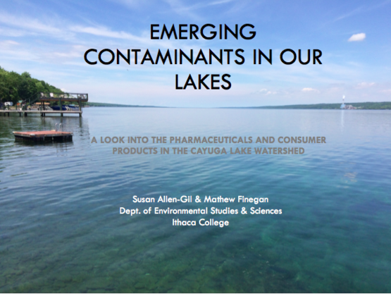 NYSFOLA Emerging Contaminants Presentation