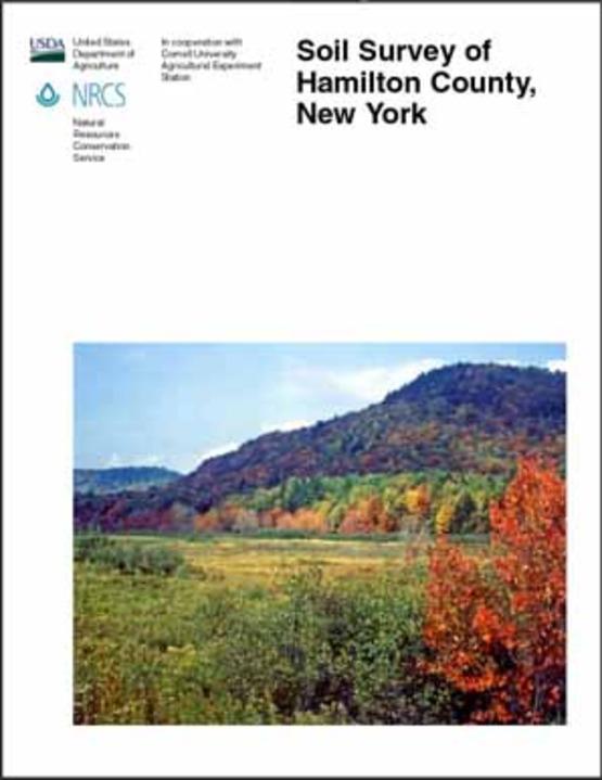 cover image of usda soil survey for Hamilton County publication
