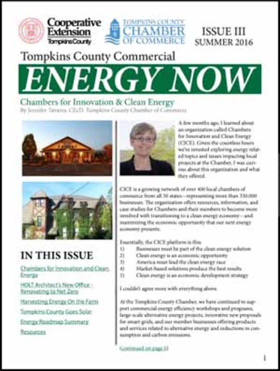 Cover image of Summer 2016 Commercial Energy Now