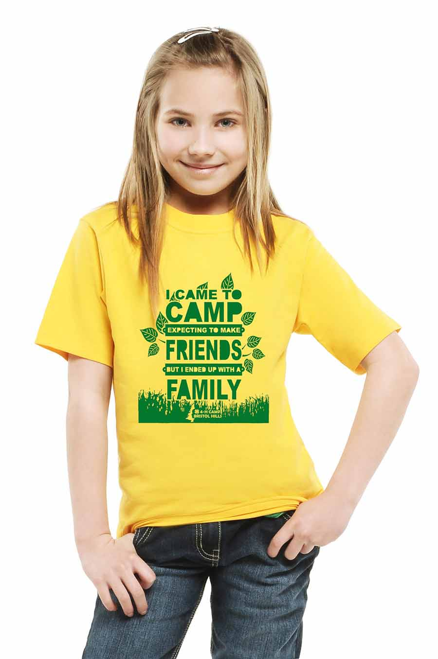 Camp shirt for camp store page.