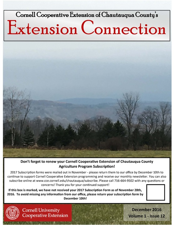 Extension Connection December 2016