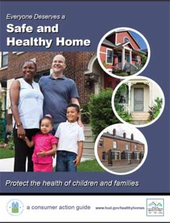 "Cover to HUD publication ""Everyone Deserves A Safe & Healthy Home"""