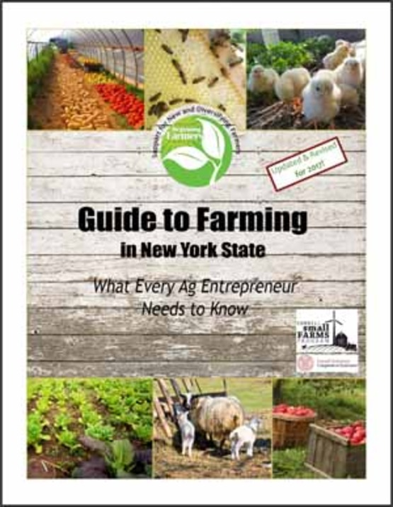 cover of 2017 Guide to Farming in NY